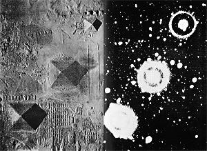 Alignement des pyramides de Gizeh sur la ceinture d'Orion