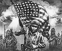 soldats amérindiens
