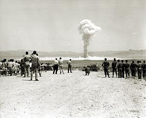 test nucléaire au Nouveau-Mexique